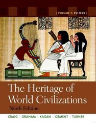 Heritage of World Civilizations, The: Volume 1 with NEW MyHistoryLab and Pearson eText 9th edition 9780205216475 0205216471