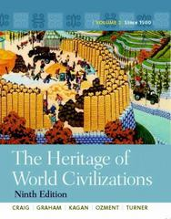 Heritage of World Civilizations, The: Volume 2 with NEW MyHistoryLab eText -- Access Card Package 9th edition 9780205207534 0205207537