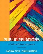 Public Relations: A Value Driven Approach with MyCommunicationLab with eText -- Access Card Package 5th Edition 9780205185528 0205185525
