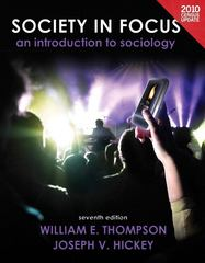 Society in Focus: An Introduction to Sociology, Census Update Plus MySocLab with eText -- Access Card Package 7th edition 9780205171484 0205171486