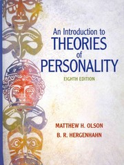 Introduction to Theories of Personality, An with MyPsychKit 8th edition 9780205015221 0205015220