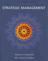 Strategic Management: Concepts with Interpretive Simulations Access Code Card Group B 2nd edition 9780135039809 0135039800