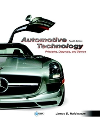 Automotive Technology with NATEF Correlated Task Sheets 4th edition 9780132811057 0132811057