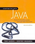 Starting Out with Java: From Control Structures through Data Structures