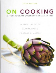 On Cooking: A Textbook of Culinary Fundamentals with MasterCook 11, Study Guide, and MyCulinaryLab 5th edition 9780132658485 0132658488