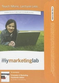 Principles of Marketing, Student Value Edition Plus NEW MyMarketingLab with Pearson eText -- Access Card Package 14th edition 9780132577489 0132577488
