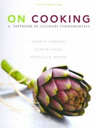 On Cooking: A Textbook of Culinary Fundamentals with Cooking Techniques DVD and Study Guide 5th edition 9780132540674 0132540673
