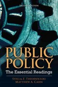 Public Policy 2nd edition 9780205856336 0205856330