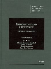 Immigration and Citizenship 7th edition 9780314267092 0314267093