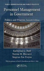 Personnel Management in Government 7th Edition 9781466513631 1466513632