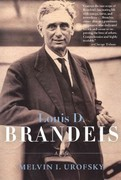 Louis D. Brandeis 1st Edition 9780805211955 0805211950