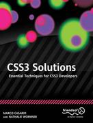 CSS3 Solutions 1st Edition 9781430243359 143024335X