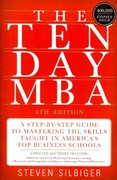 The Ten-Day MBA 4th Edition 9780062199577 0062199579