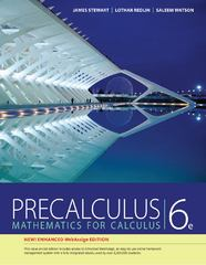 Precalculus, Enhanced WebAssign Edition 6th Edition 9781133594765 113359476X