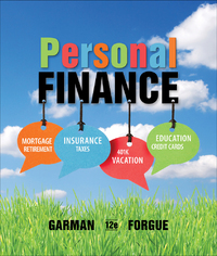 Personal Finance 12th Edition 9781133595830 1133595839