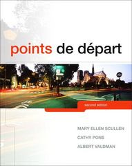 Points de départ 2nd Edition 9780205957491 0205957498