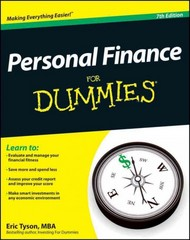 Personal Finance For Dummies 7th Edition 9781118117859 1118117859
