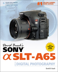 David Busch's Sony Alpha SLT-A65 Guide to Digital Photography 1st edition 9781133597124 1133597122