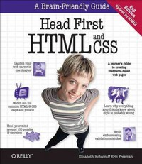Head First HTML and CSS 2nd Edition 9781449324506 1449324509