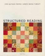 Structured Reading 8th Edition 9780205244652 0205244653