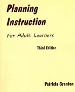 Planning Instruction for Adult Learners 3rd Edition 9781895131253 1895131251