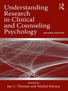 Understanding Research in Clinical and Counseling Psychology 2nd Edition 9780415992213 0415992214
