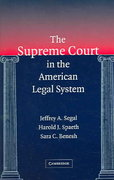 The Supreme Court in the American Legal System 0 9780521785082 0521785081