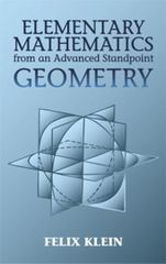 Elementary Mathematics from an Advanced Standpoint 0 9780486434810 0486434818