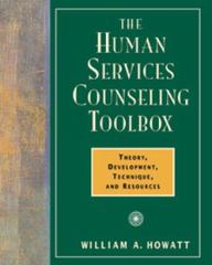 The Human Services Counseling Toolbox 1st edition 9780534359324 0534359329