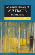 A Concise History of Australia 2nd edition 9780521601016 0521601010