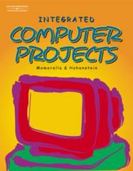 Integrated Computer Projects 1st edition 9780538433860 0538433868