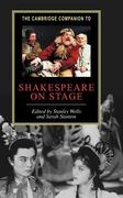 Shakespeare on Stage 0 9780521792950 0521792959