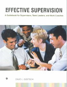Effective Supervision 1st edition 9780130315830 0130315834