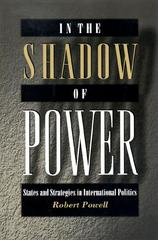 In the Shadow of Power 0 9780691004570 0691004579