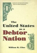 The United States as a Debtor Nation 0 9780881323993 0881323993