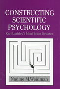 Constructing Scientific Psychology 0 9780521621625 0521621623