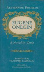 Eugene Onegin 2nd edition 9780691019048 0691019045