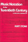Music Notation in the Twentieth Century 1st Edition 9780393950533 0393950530