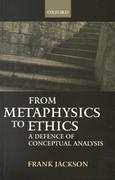 From Metaphysics to Ethics 0 9780198250616 0198250614