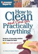 How to Clean and Care for Practically Anything 0 9780890439654 0890439656