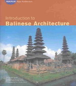 Introduction to Balinese Architecture 0 9780794600716 0794600719