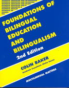 Foundations of Bilingual Education and Bilingualism 2nd edition 9781853593574 1853593575