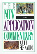 NIV Application Commentary - Acts 1st Edition 9780310494102 0310494109