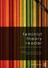 Feminist Theory Reader 3rd edition 9780415521024 0415521025