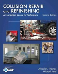 Collision Repair and Refinishing 2nd Edition 9781133601876 1133601871