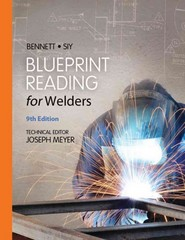 Blueprint Reading for Welders, Spiral bound Version 9th Edition 9781133605782 1133605788