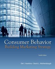 Consumer Behavior 12th edition 9780073530048 0073530042