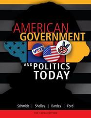 American Government and Politics Today, 2013-2014 Edition 16th edition 9781133602132 1133602134