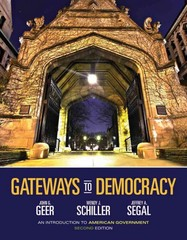 Gateways to Democracy 2nd edition 9781133602231 1133602231