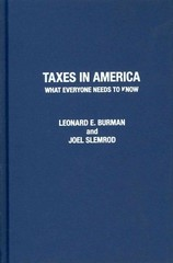 Taxes in America 1st Edition 9780199995943 019999594X